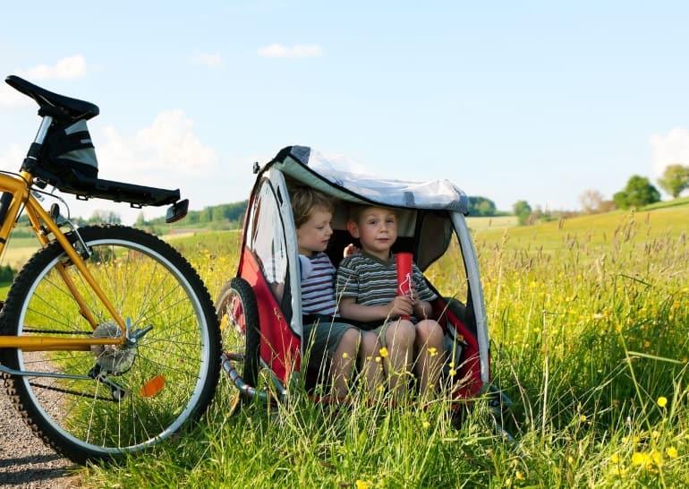 Fahrradanhängerkupplung für Kinderfahrradanhänger