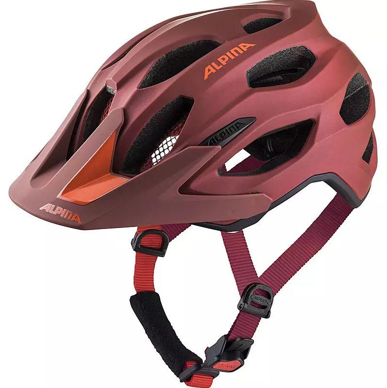 Alpina Carapax 2.0 - Fahrradhelm - Indigo-Cherry Drop