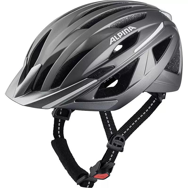 Alpina HAGA - Fahrradhelm für Damen - Darksilver Matt