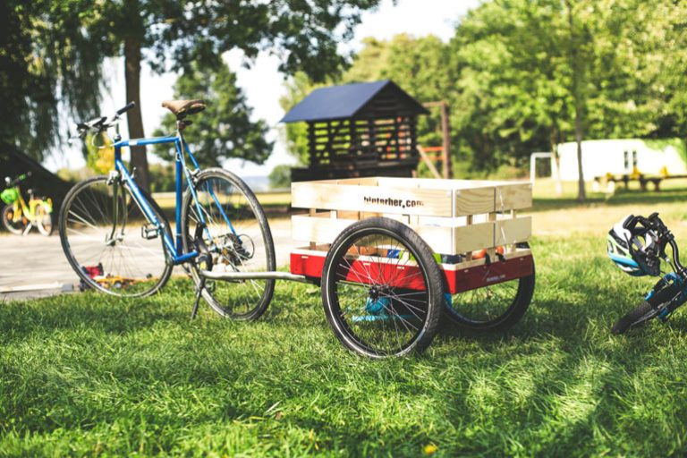 Lastenanhänger für Fahrräder-1