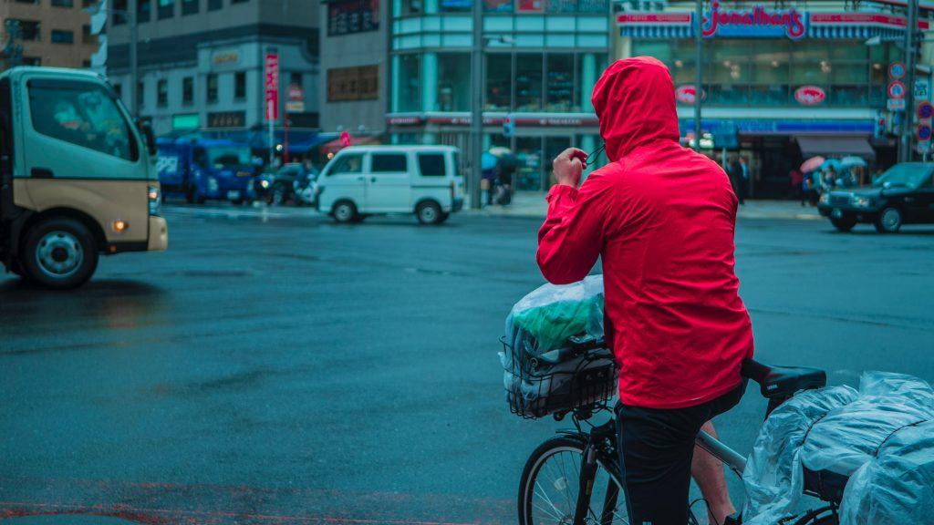 Regenbekleidung fürs Fahrrad