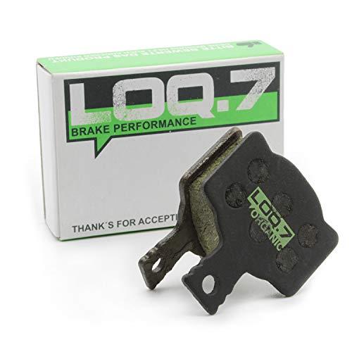 LOQ.7 Fahrrad Scheibenbremsbeläge - organisch für Magura MT2 MT4 MT6 MT8