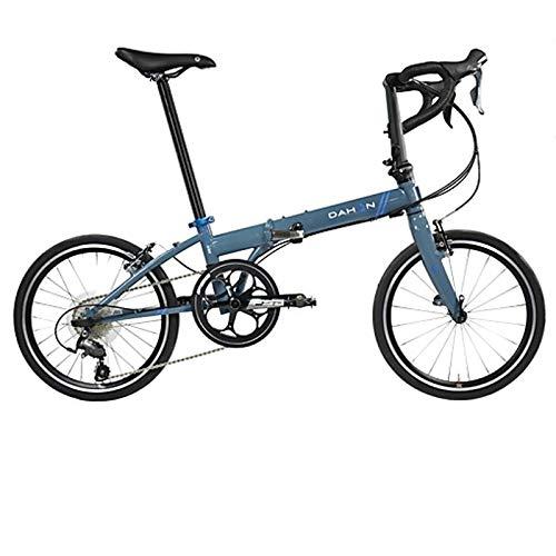 Dahon Unisex Fahrrad Speed D30 Faltrad, Blau, 30 Gang, 20