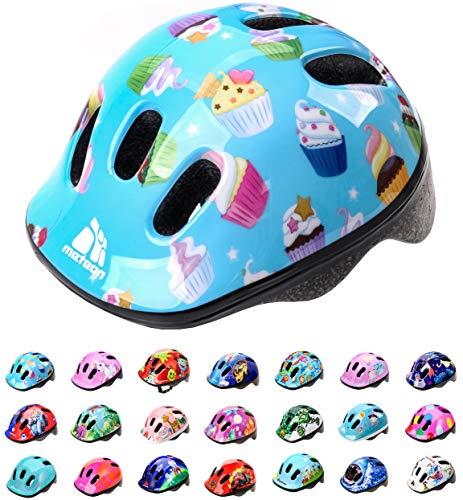 meteor® Fahrradhelm MV6-2 Kinder & Jugendhelme: Radhelm für Radfahrer Radsport; für Hoverboard, Inline-Skate BMX Fahrrad Scooter Entwickelt für die Sicherheit der jüngsten Benutzer