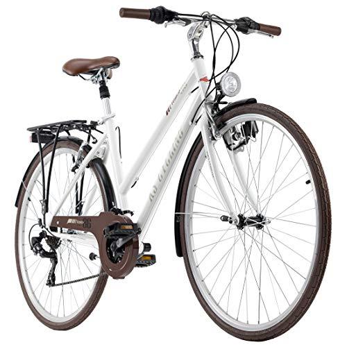 KS Cycling Trekkingrad Damen Venice 28'' Tourenlenker weiß RH 48 cm