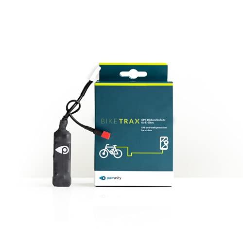 PowUnity BikeTrax GPS-Tracker für E-Bikes (Diebstahlalarm, Live-Tracking, Routentagebuch für Bosch, Brose, Shimano, Yamaha, Universal) (Bosch Generation 4)