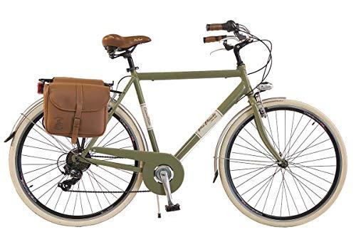 Via Veneto by Canellini Fahrrad Rad Citybike CTB Herren Vintage Retro Via Veneto Alluminium (Grun, 54)