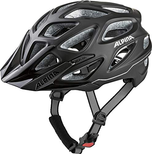 ALPINA Unisex - Erwachsene, MYTHOS 3.0 LE Fahrradhelm, black matt, 57-62 cm